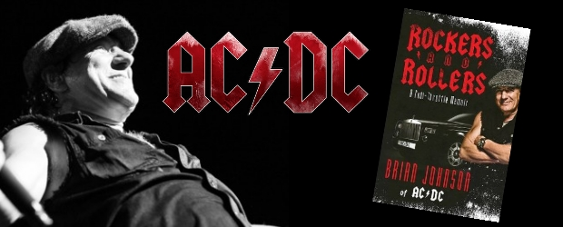AC/DC lead singer Brian Johnson will begin a small book signing tour in support of his new book, 'Rockers and Rollers: A Full Throttle Memoir'....