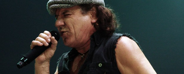 """AC/DC's lead singer Brian Johnson is set to tour in 2012 in support of his recent book, """"Rockers And Rollers: A Full Throttle Memoir."""""""