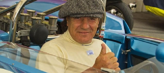 AC/DC lead singer Brian Johnson has entered the digital age, launching his own website at brianjohnsonracing.com