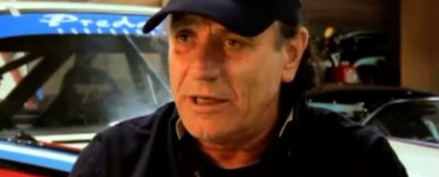 AC/DC's lead singer Brian Johnson has put his Riley Daytona Prototype through its first test at the Daytona International Speedway...